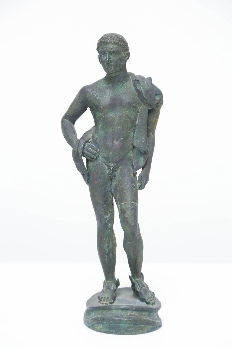 Neoclassical Grand Tour Bronze of Hermes, Italian Chiurazzi Foundry For Sale