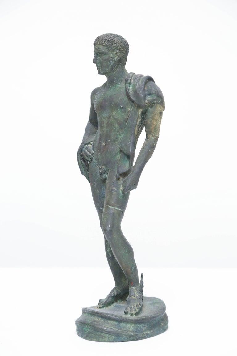 Cast Grand Tour Bronze of Hermes, Italian Chiurazzi Foundry For Sale