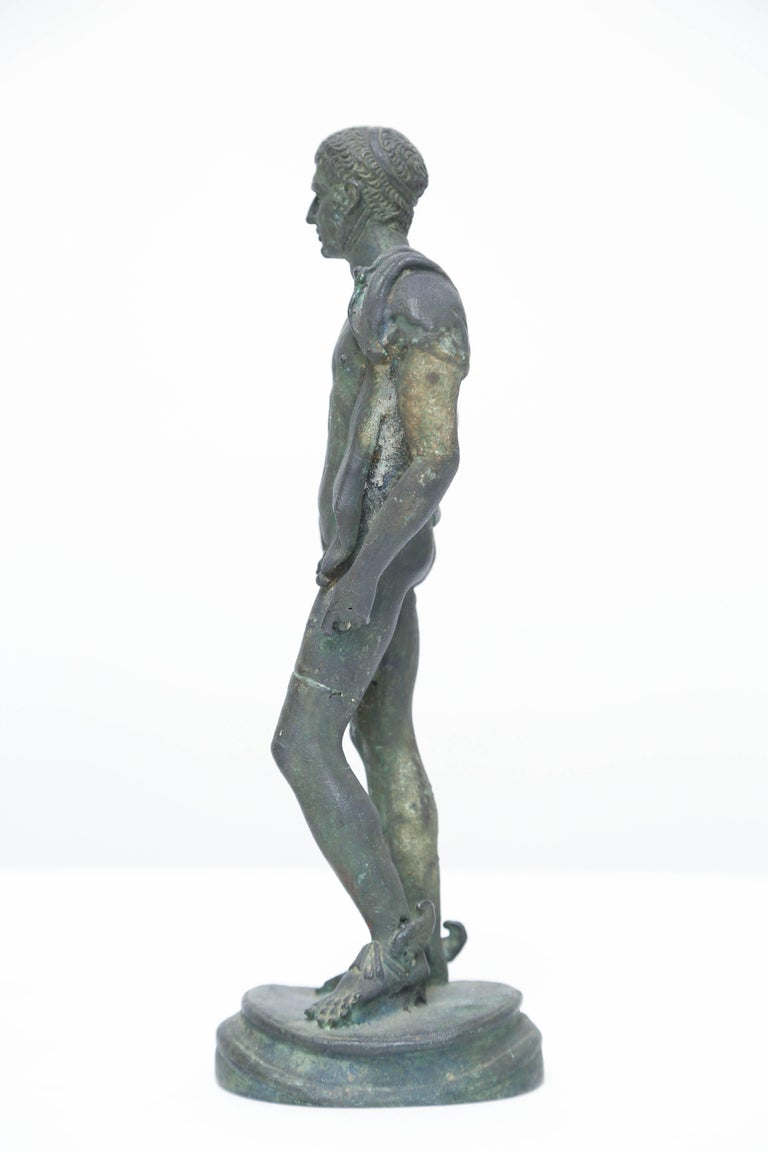 Grand Tour Bronze of Hermes, Italian Chiurazzi Foundry In Good Condition For Sale In Kensington, MD