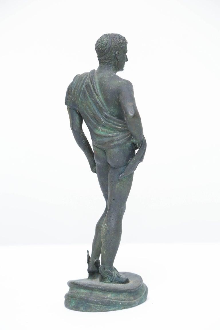 Grand Tour Bronze of Hermes, Italian Chiurazzi Foundry For Sale 1