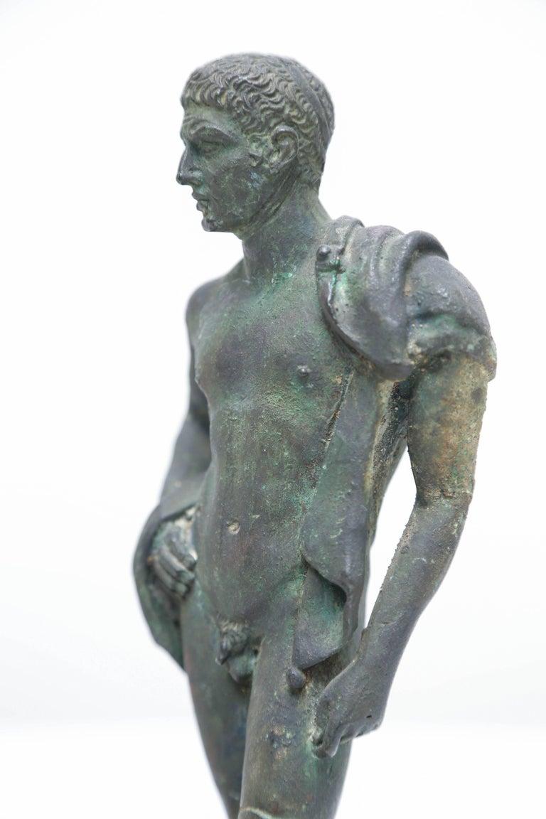 Grand Tour Bronze of Hermes, Italian Chiurazzi Foundry For Sale 3