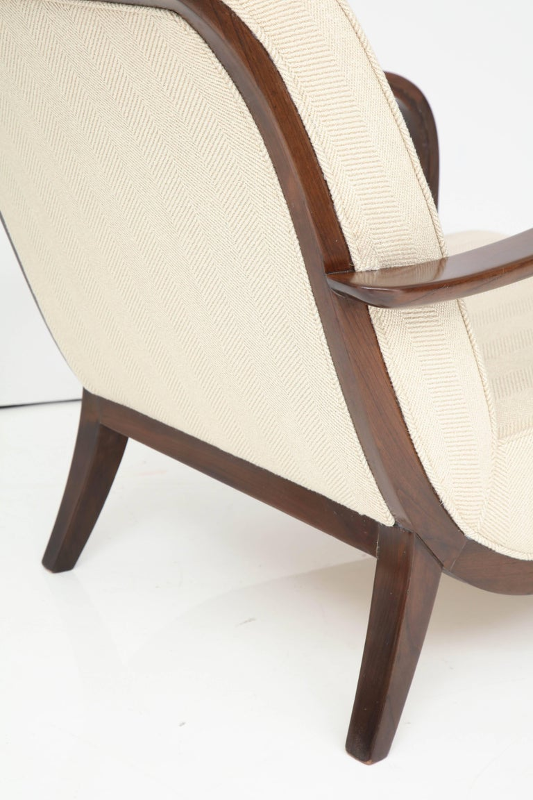 Pair of Italian Armchairs Attributed to Paolo Buffa In Excellent Condition For Sale In New York, NY