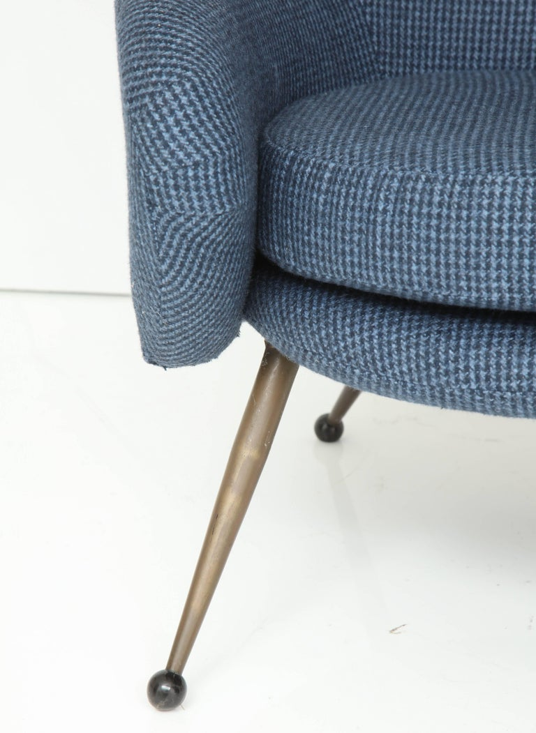 Mid-Century Modern Martingala Armchair by Marco Zanuso for Arflex For Sale