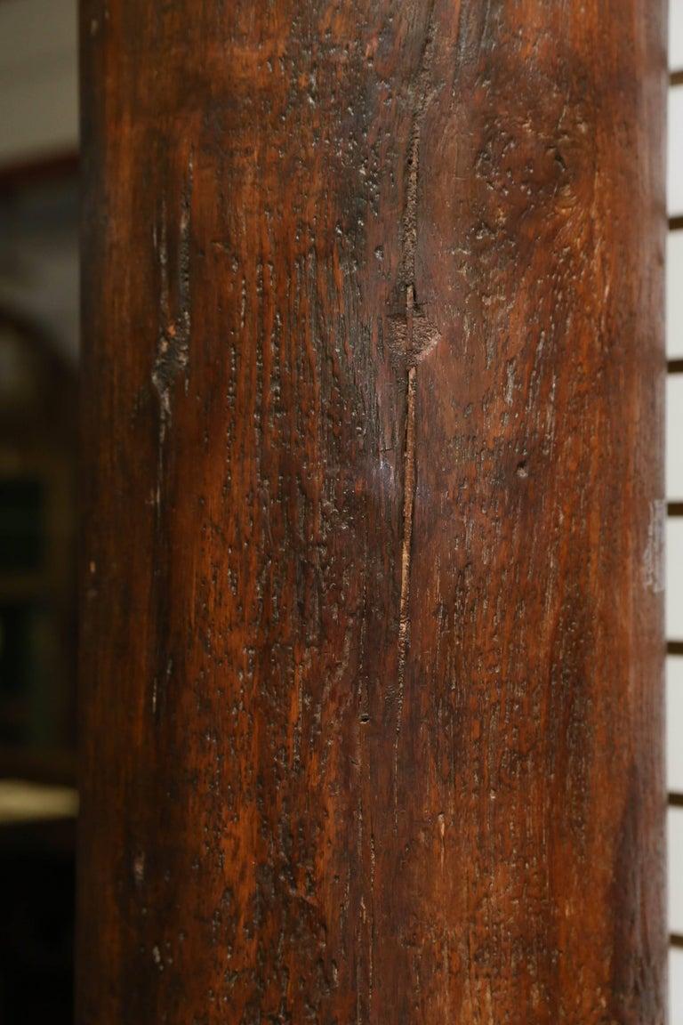 First Quarter of 19th Century Load Bearing Columns from Colonial Mansion In Good Condition For Sale In Houston, TX