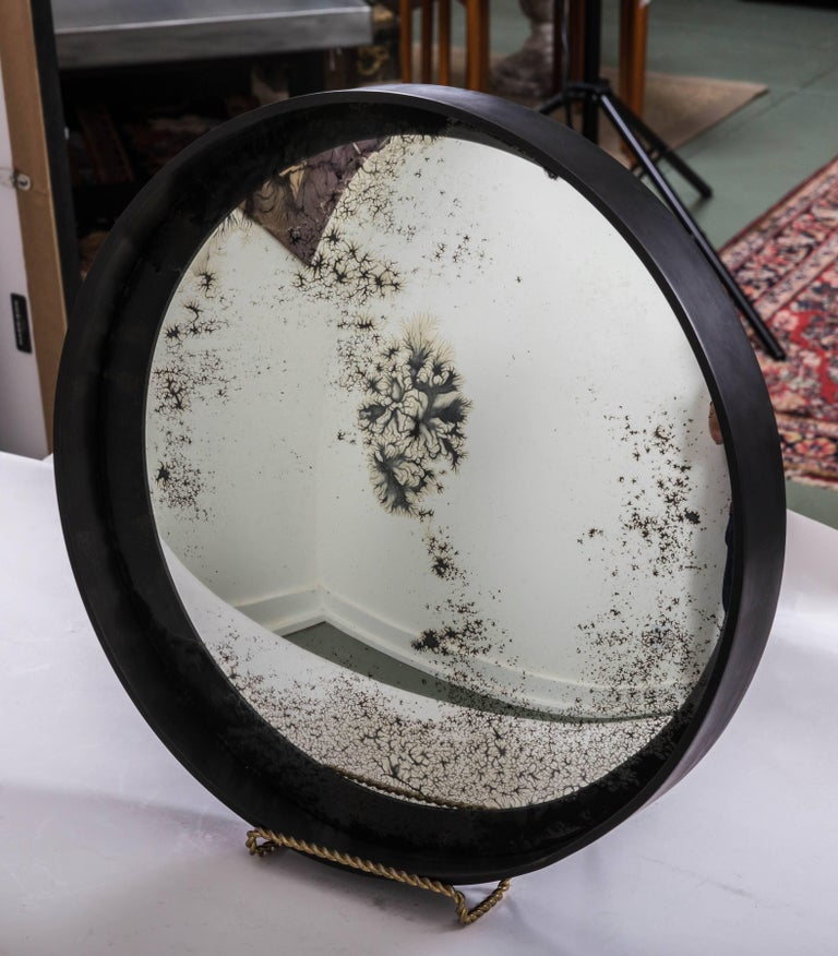 19th Century Industrial Antique Convex Mirror, Offered by Fork and Rose For Sale