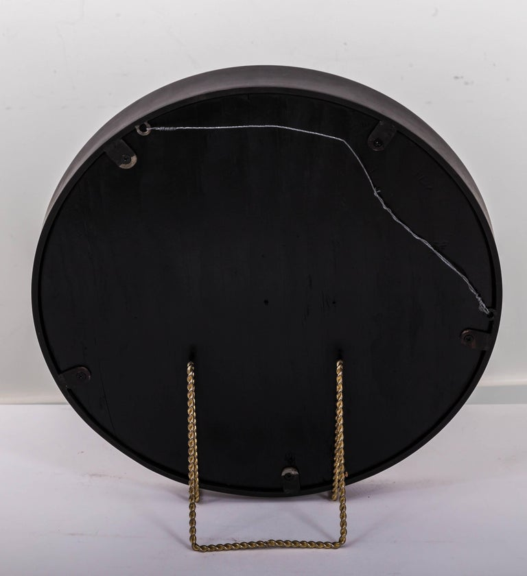 Industrial Antique Convex Mirror, Offered by Fork and Rose For Sale 4