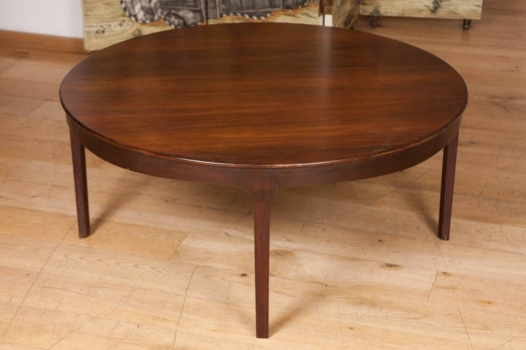 Danish Coffee Table by Ole Wanscher For Sale