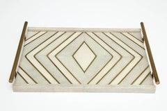 Shagreen and Bronze Tray