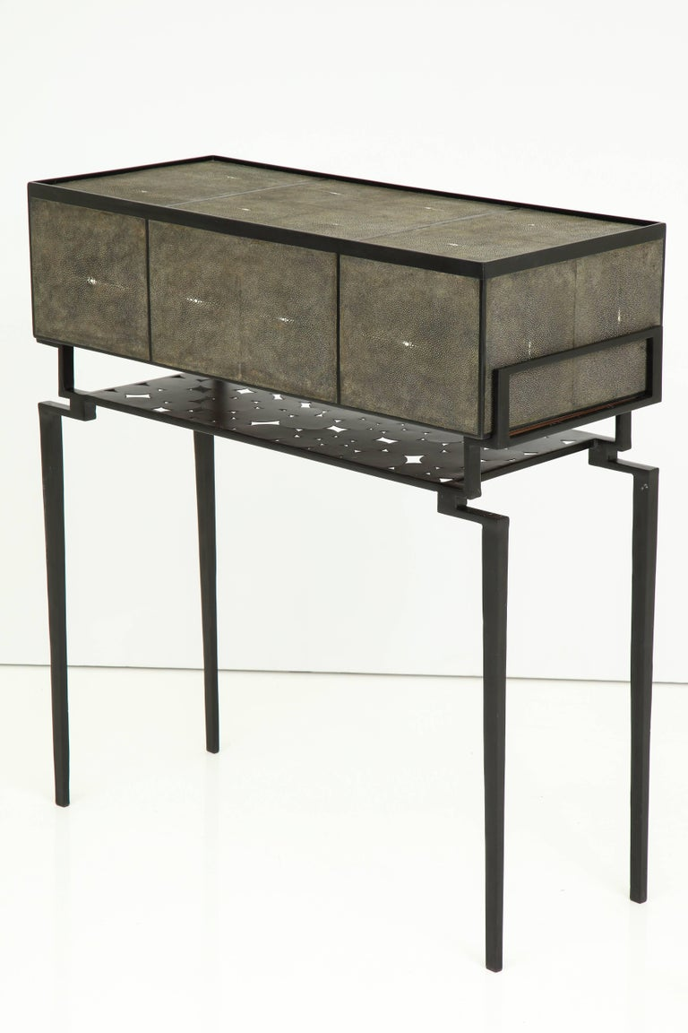 Shagreen Cabinet, Offered by Area ID For Sale 1