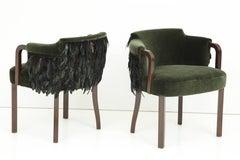 Austrian Art Deco Salon Chairs