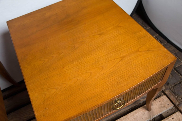 Mid-Century Modern End Tables by Baker In Excellent Condition For Sale In Stamford, CT