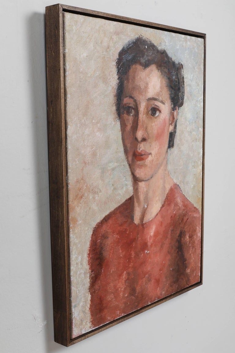 Portrait of a Woman In Good Condition For Sale In Los Angeles, CA