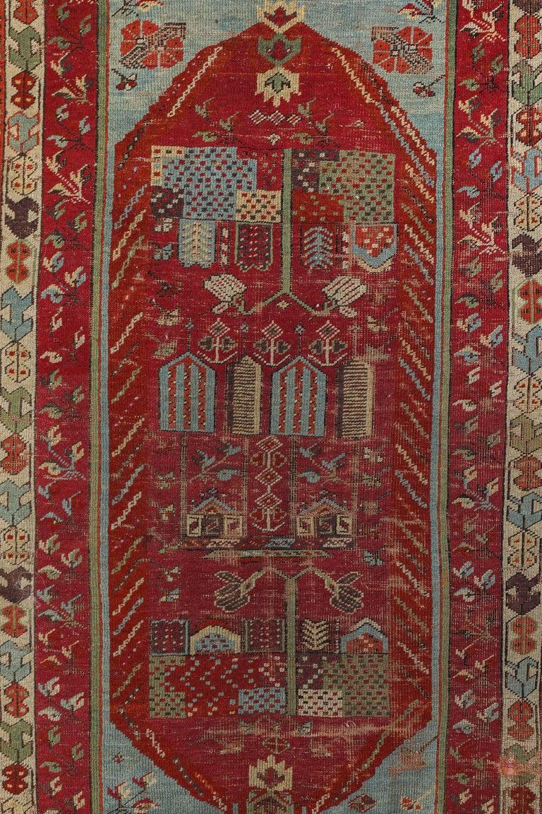 Antique Anatolian Village Rug 2
