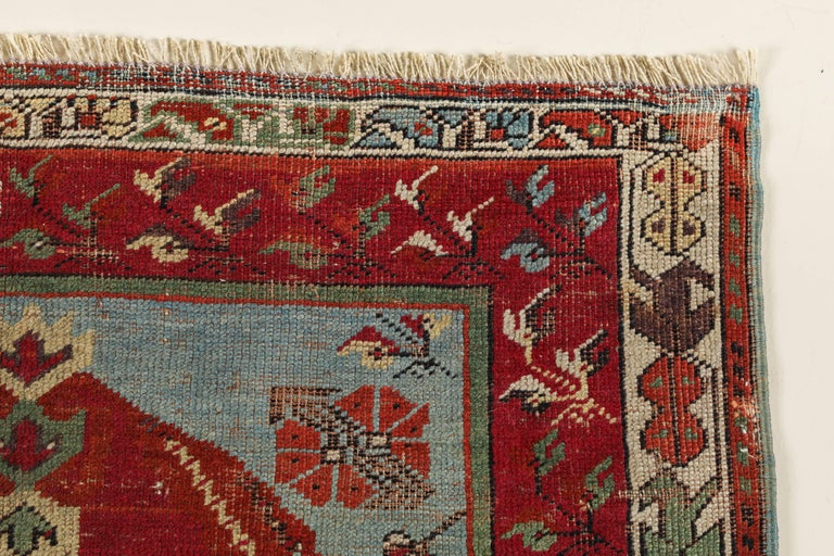 Antique Anatolian Village Rug 4