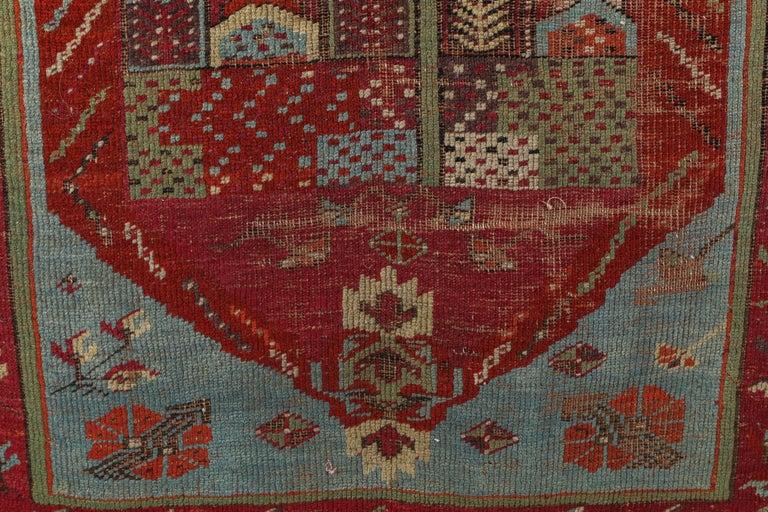 Antique Anatolian Village Rug 5