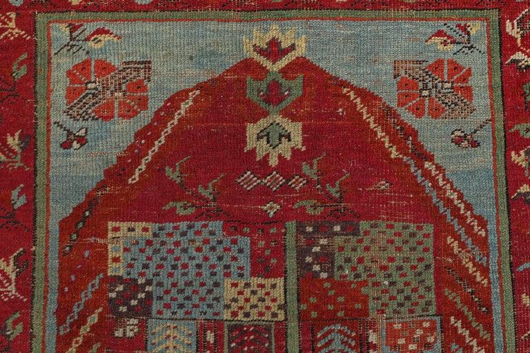 Antique Anatolian Village Rug 7