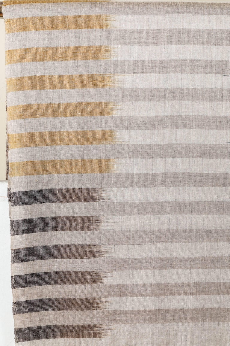 Ikat Woven Cashmere Throw 5