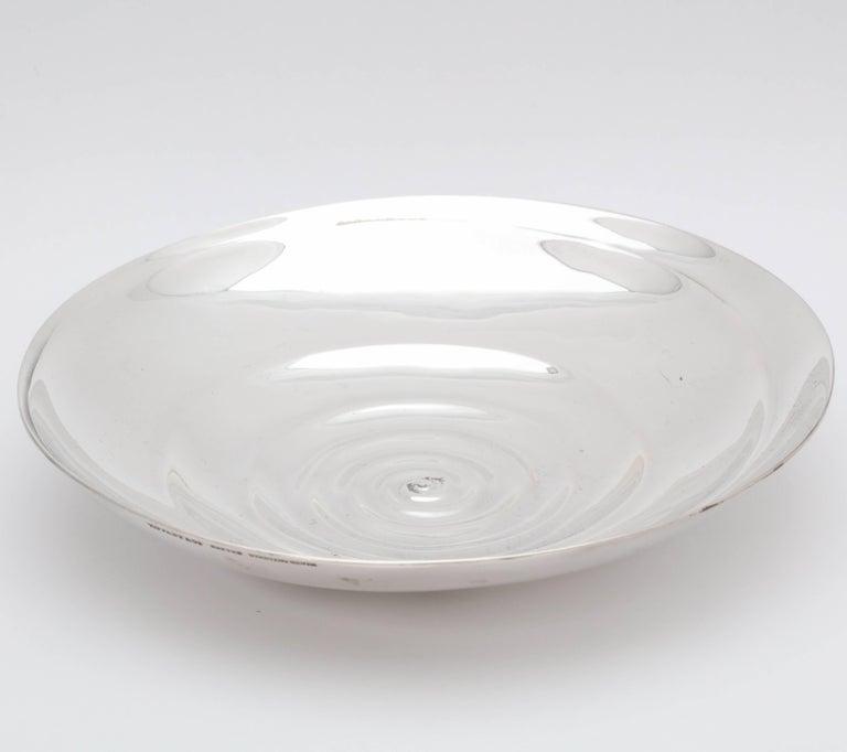 Unusual Midcentury Sterling Silver Tiffany Bowl 4