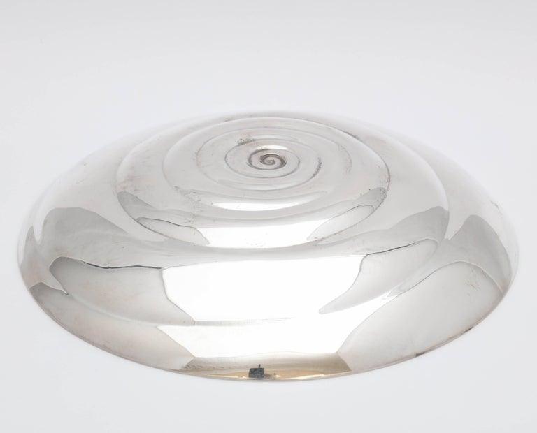 Unusual Midcentury Sterling Silver Tiffany Bowl 5