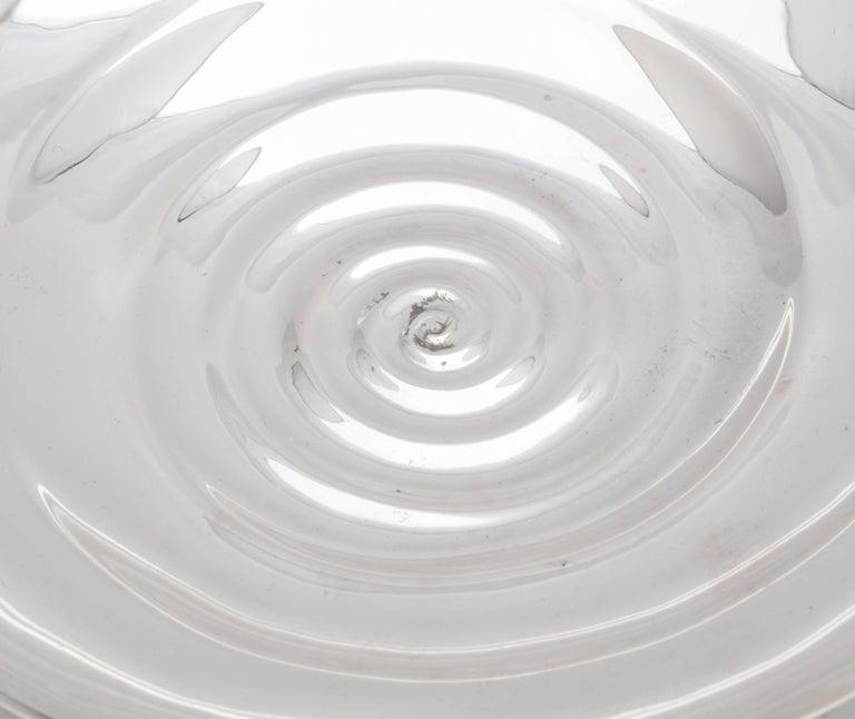 Unusual Midcentury Sterling Silver Tiffany Bowl 7
