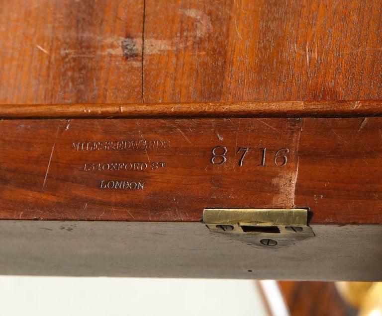 Regency Gilt Bronze-Mounted Rosewood Octagonal Centre Table For Sale 3