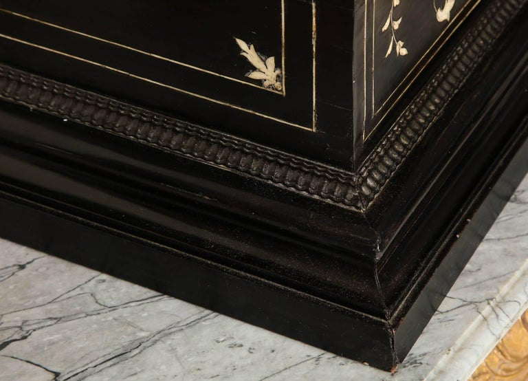 17th Century Flemish Ebony and Bone Jewel Box 1