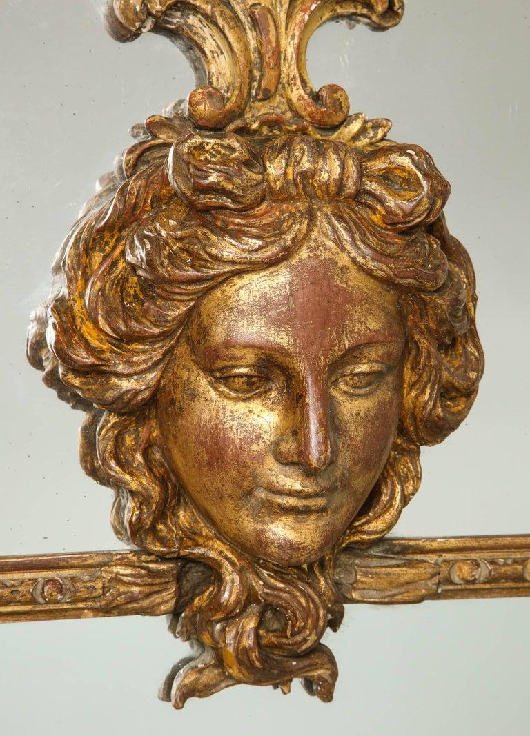 English Rococo Mirror For Sale 1