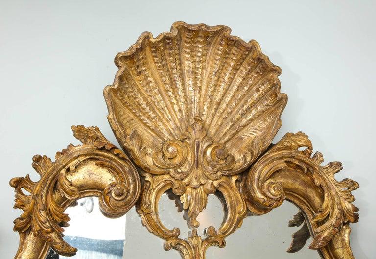 English Rococo Mirror For Sale 2