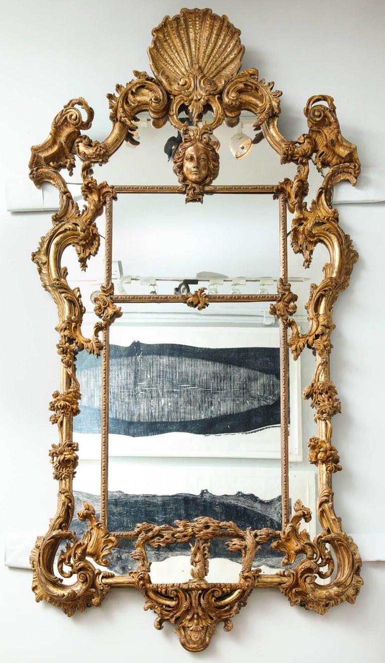 English Rococo Mirror For Sale 3