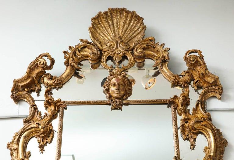 English Rococo Mirror For Sale 4