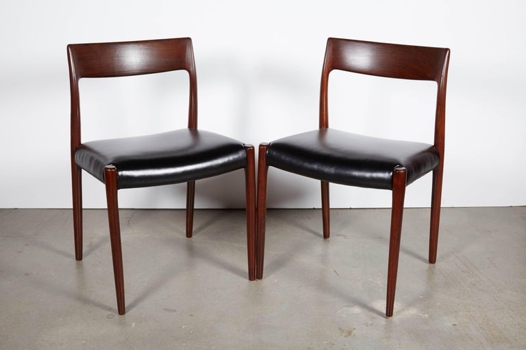 Neils Moller No 77 Dining Chairs, Set of Six 2