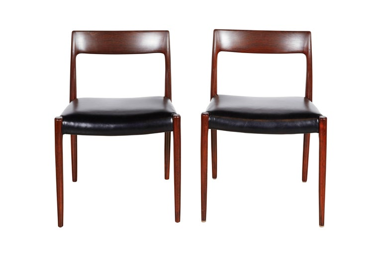Neils Moller No 77 Dining Chairs, Set of Six 4