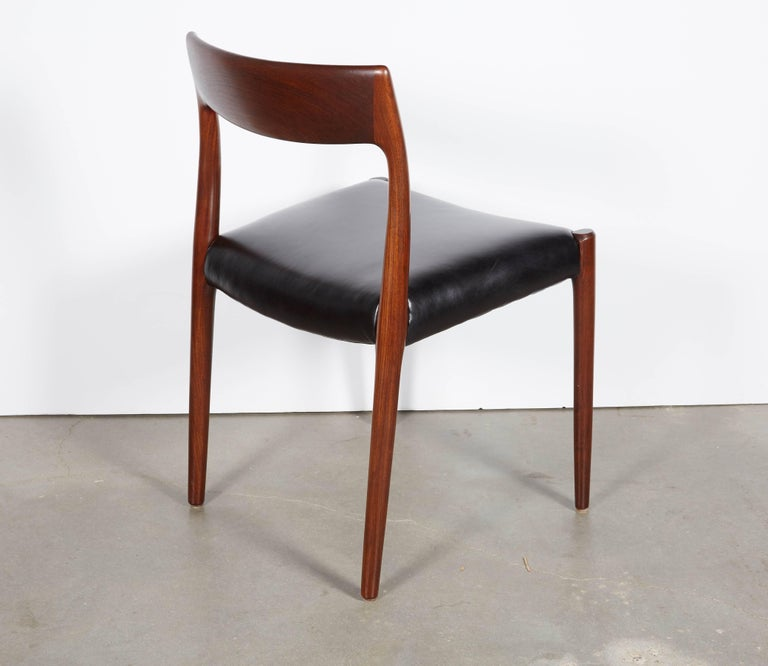 Neils Moller No 77 Dining Chairs, Set of Six 6