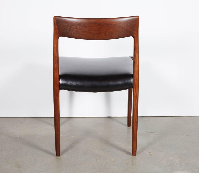 Neils Moller No 77 Dining Chairs, Set of Six 7