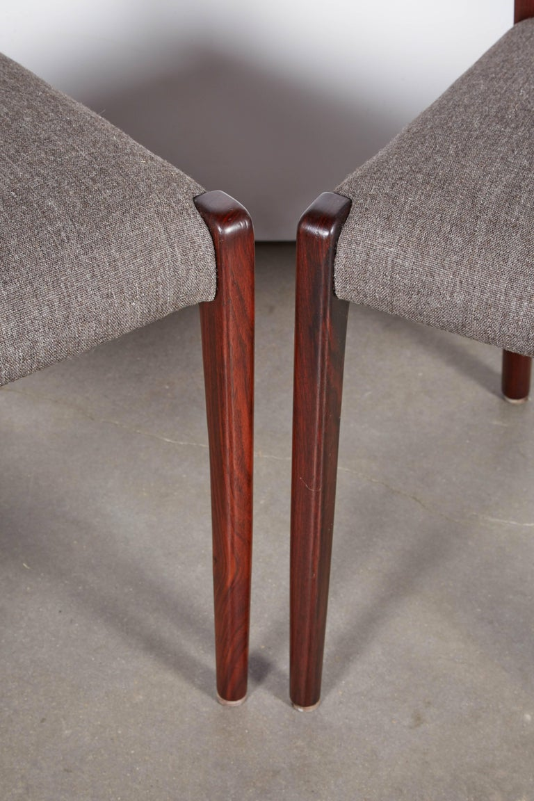 Niels Moller No 71 Rosewood Dining Chairs, Set of Six 4