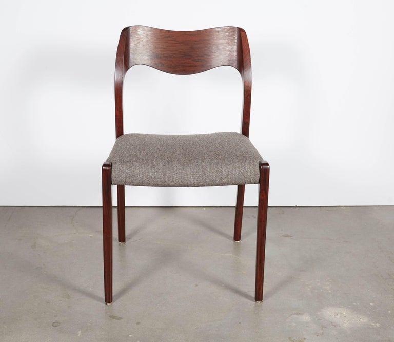 Niels Moller No 71 Rosewood Dining Chairs, Set of Six 5
