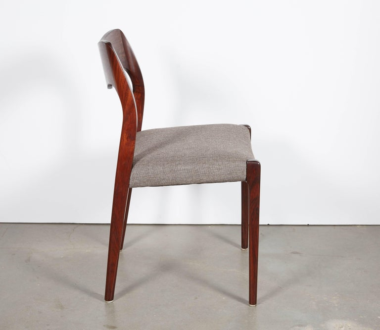 Niels Moller No 71 Rosewood Dining Chairs, Set of Six 7