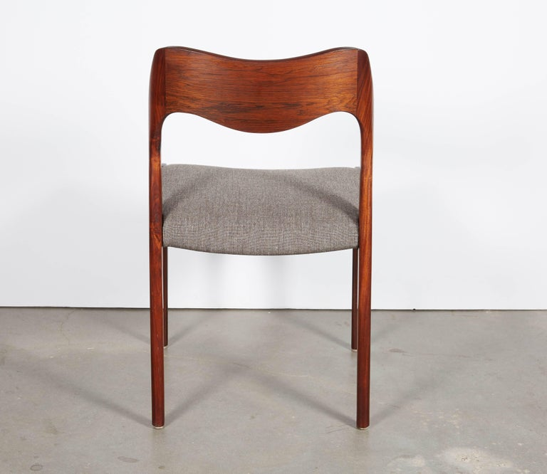 Niels Moller No 71 Rosewood Dining Chairs, Set of Six 9