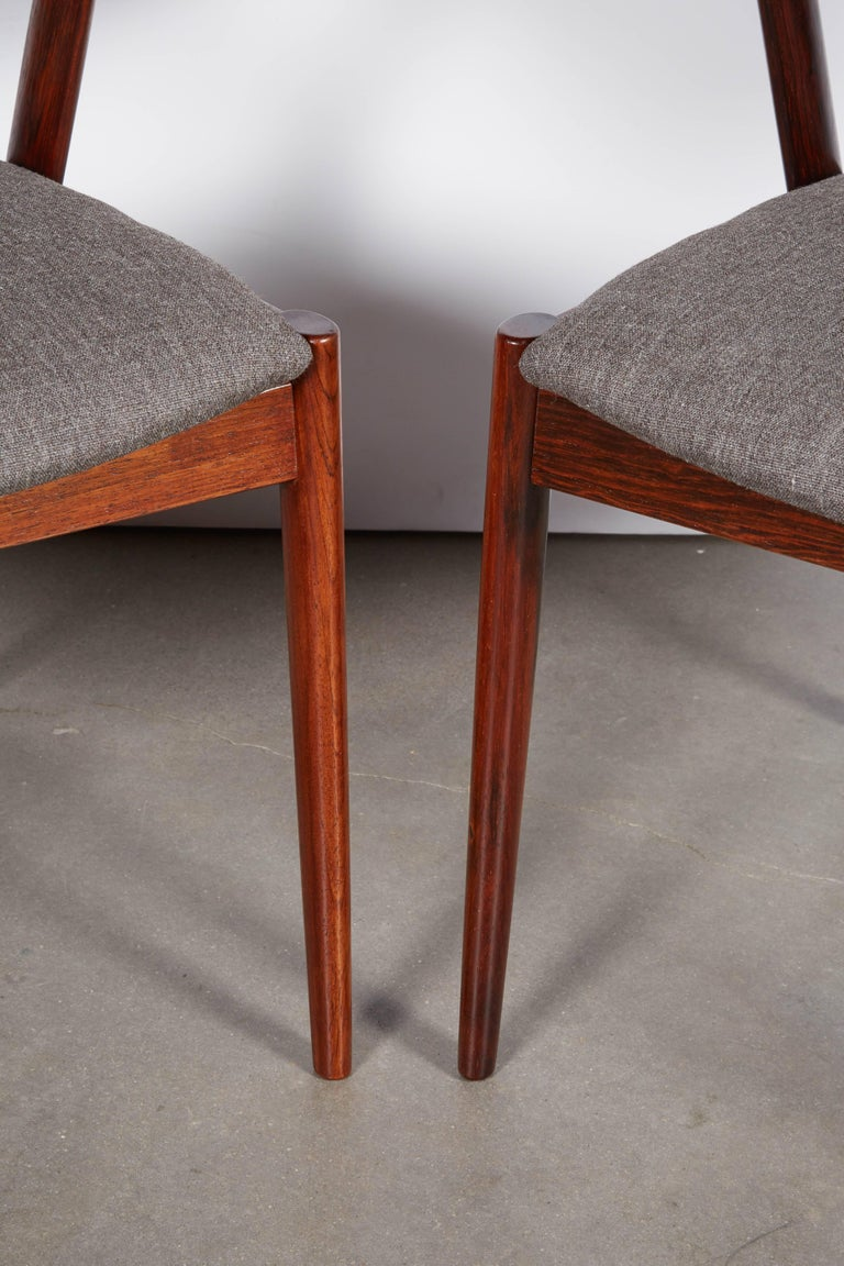 Kai Kristiansen No. 42 Rosewood Dining Chairs, Set of Eight 4