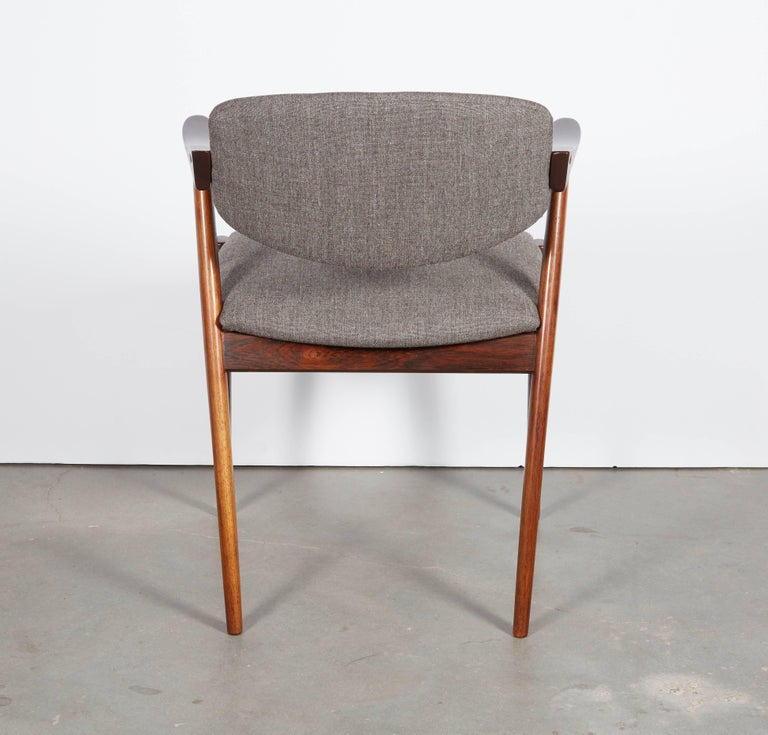 Kai Kristiansen No. 42 Rosewood Dining Chairs, Set of Eight 9
