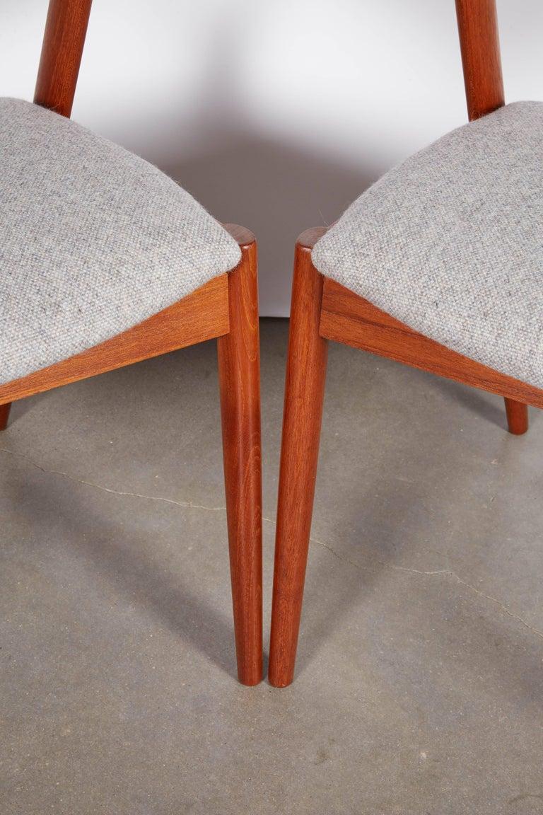No. 42 Kai Kristiansen Teak Dining Chairs, Set of FOUR  4