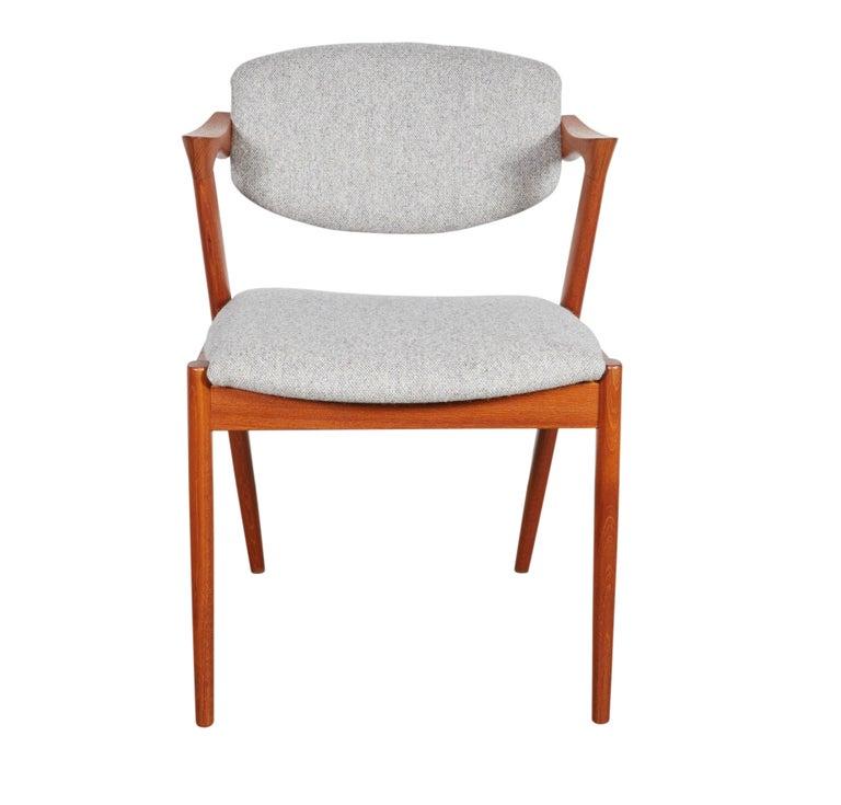 No. 42 Kai Kristiansen Teak Dining Chairs, Set of FOUR  6