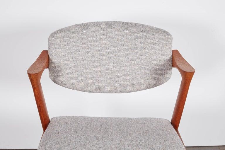No. 42 Kai Kristiansen Teak Dining Chairs, Set of FOUR  7
