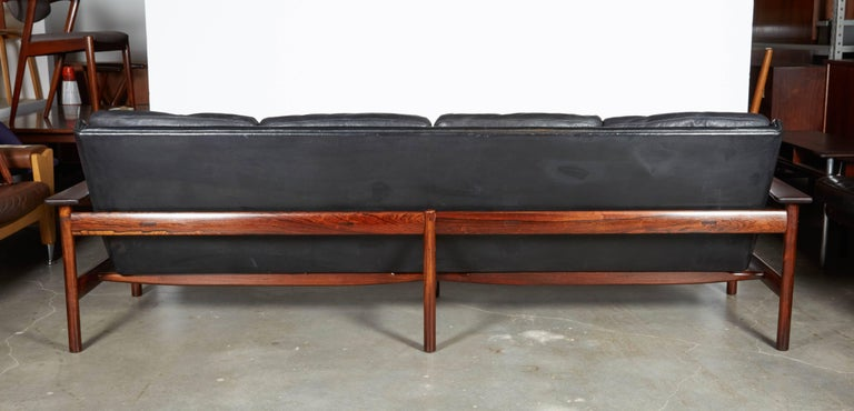 Sven Ivar Dysthe 7001 Leather Sofa 7