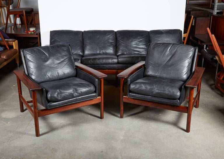 Sven Ivar Dysthe 7001 Leather Sofa 9