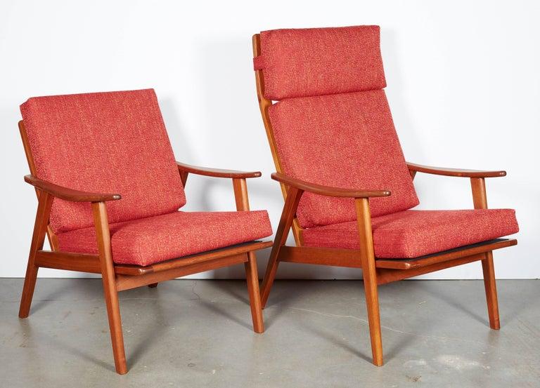 Danish Modern High Back Armchair  7