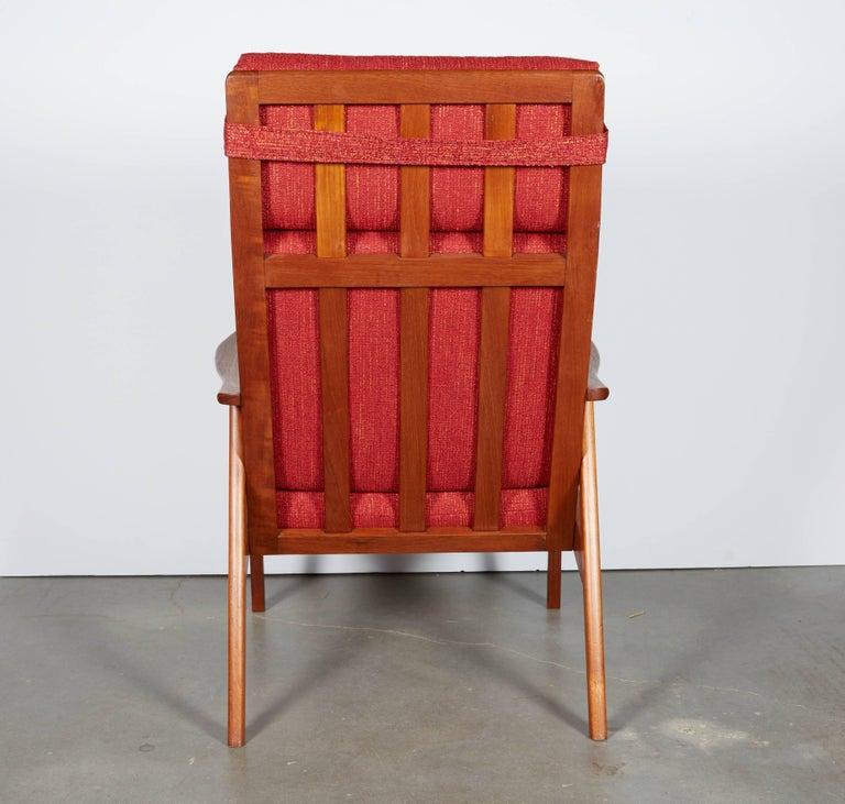 Danish Modern High Back Armchair  2