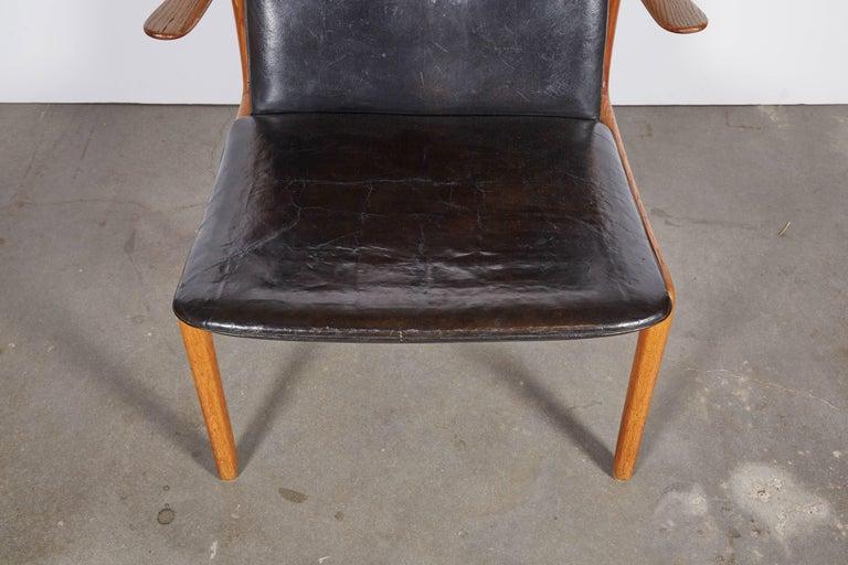 Scandinavian Modern Ole Wanscher Beak Chair For Sale