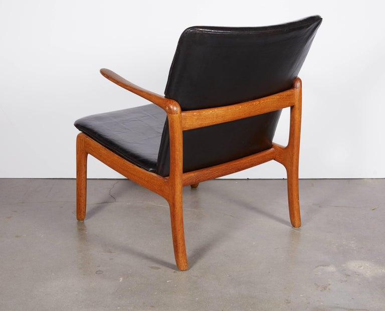 Ole Wanscher Beak Chair In Excellent Condition For Sale In New York, NY