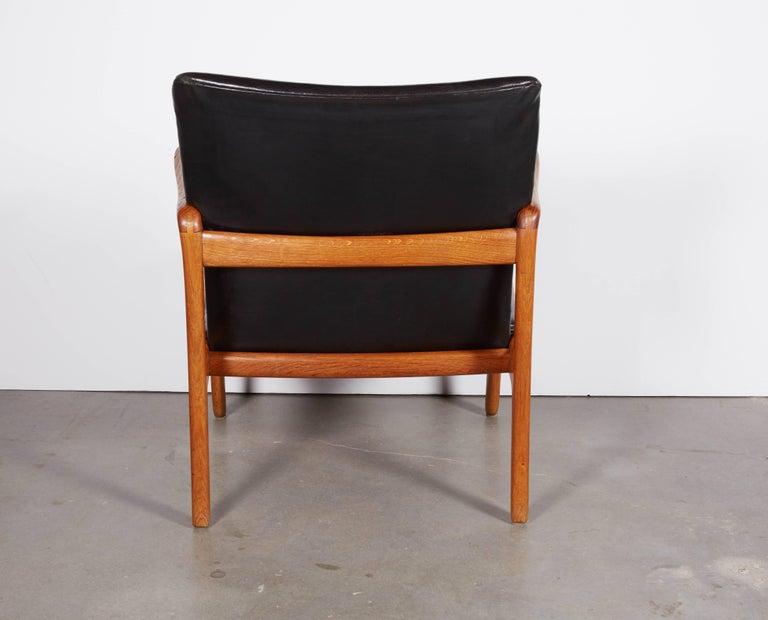Mid-20th Century Ole Wanscher Beak Chair For Sale
